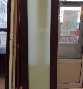 Двери. С триплекс стёклами