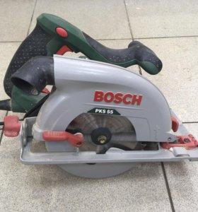 Циркулярка Bosch PKS55