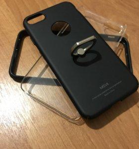 На айфон 7 чехлы+бампер