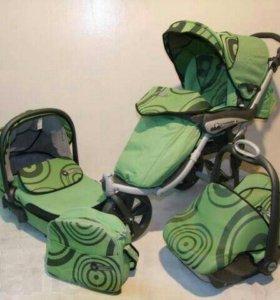 Продам детскую коляску CAM 3 в 1