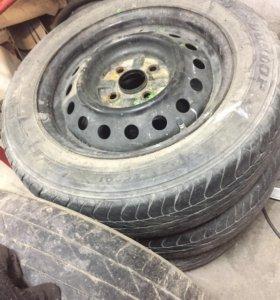 Шины с дисками Dunlop лето