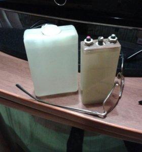 Серебряно-цинковый АКБ И три банки электролита для