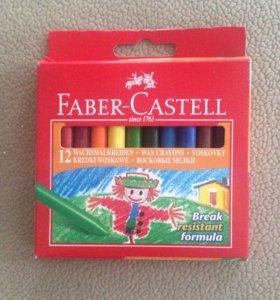 Восковые карандаши Faber castell