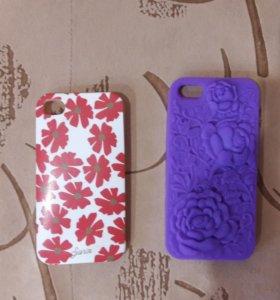 Чехлы для айфона 4 и айфон 5