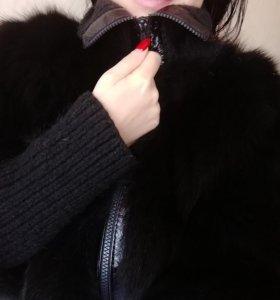 Шуба - куртка песец