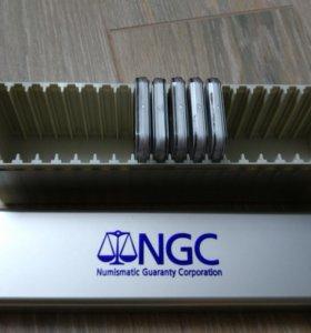 Золотые монеты NGC