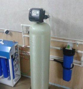 Очистка воды-Установка фильтров -Водоочистка