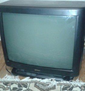 Телевизор цветной рабочий