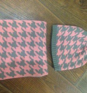 Комплект (шапка и шарф)