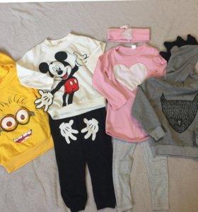 Новая детская одежда 74-98