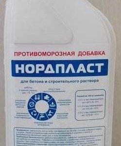 "Добавка противоморозная ""Нордпласт"""