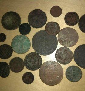 Монеты медь империи 60