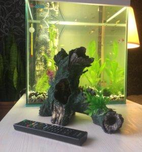 Домик в аквариум