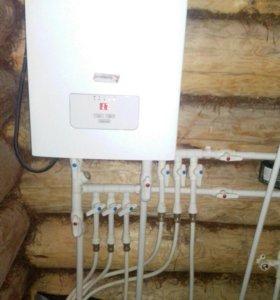 Установка систем горячего и холодного водоснаб-ия.