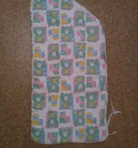 Конверт-одеяло на молнии