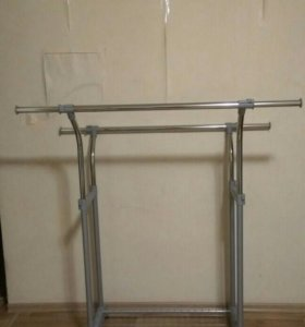 Стойка для одежды на колёсиках (гардеробная)