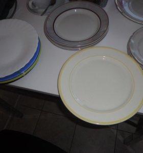 тарелки бу