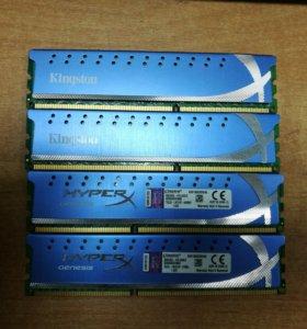 Оперативная память DDR3 4gb Kingston HyperX