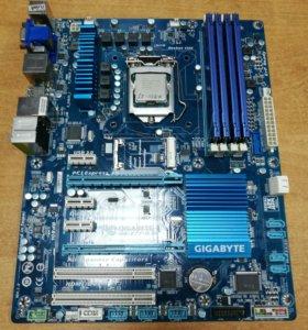 Материнка 1155 Gigabyte GA-Z77-D3H
