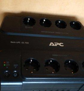 ИБП APC Back-UPS ES 700VA 405W BE700G-RS