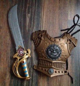 Доспехи сабля меч