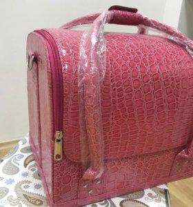 Сумка чемодан для косметики