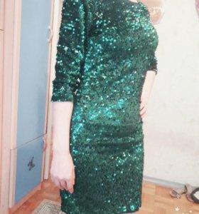 Вечернее (новогоднее) платье.