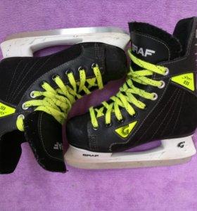 Коньки Graf детские хоккейные размер 34