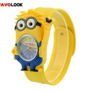 Новые часы с миньоном