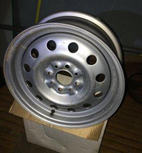 Новые стальные диски R14 для ваз, Лада, комплект 4