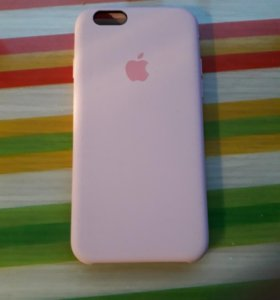 Чехол Apple 6/6s розовый