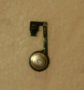 Шлейф кнопки Home айфон 4s