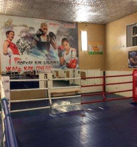 Тренировки по боксу!