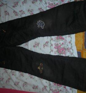 Штаны зима на р.111-128,джинсы