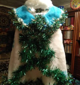 Костюм снежинки,использовали и как костюм елочки