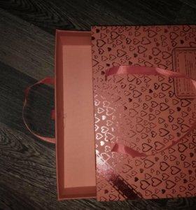Подарочные коробки м выдвигающимся ящичком