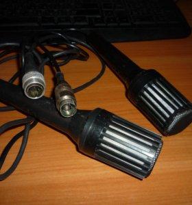 микрофоны Октава 380А 2006г с разъемом xlr