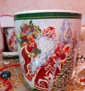 Кружка с Дедом Морозом