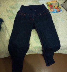 Джинсы и бриджи джинсовые для беременных