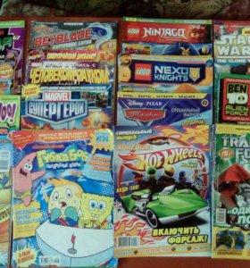 Журналы для мальчиков