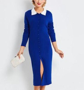 Шикарное тёплое платье