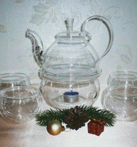 """Набор посуды для чая """"Душевное чаепитие"""""""