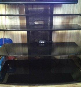Подставка под телевизор (стеклянная)