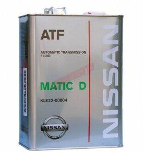 Nissan Matic Fluid D (4л) жидкость для АКПП