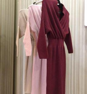 Новое теплое платье