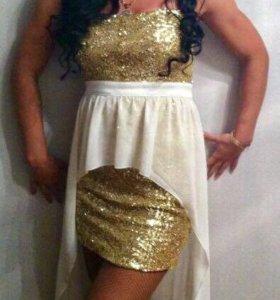 Очень красивое платье из модных пайеток
