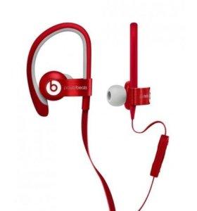 Проводные наушники PowerBeats2 Red (by Dr. Dre)