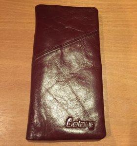 Кошелек/портмоне Lielang новый кожаный