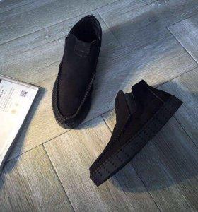 Ботинки 39 замша Philipp Plein