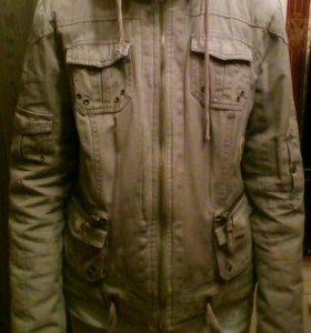 Продам куртку парку размер 44-46